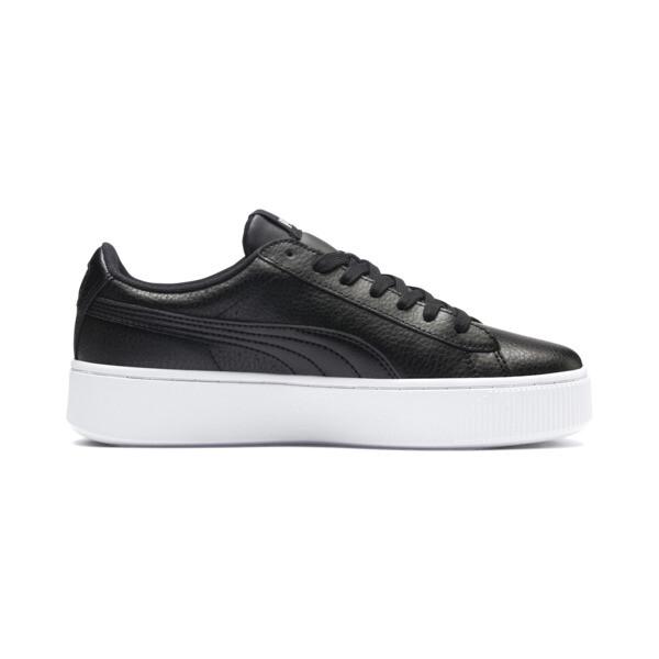 Vikky Stacked Damen Sneaker, Puma Black-Puma Black, large