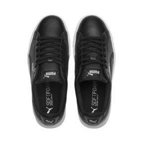 Thumbnail 6 of Vikky Stacked Damen Sneaker, Puma Black-Puma Black, medium