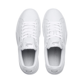 Thumbnail 6 of PUMA Vikky Stacked Women's Trainers, Puma White-Puma White, medium