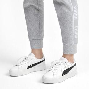Thumbnail 2 of PUMA Vikky Stacked Women's Sneakers, Puma White-Puma Black, medium