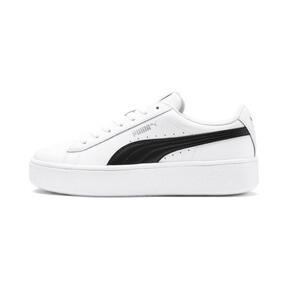 Thumbnail 1 van PUMA Vikky Stacked sneakers voor vrouwen, Puma wit-Puma zwart, medium