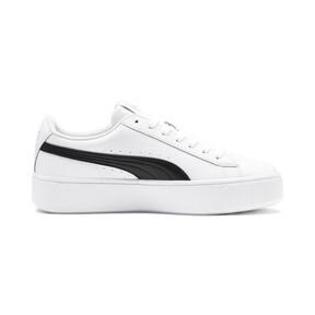 Thumbnail 6 of PUMA Vikky Stacked Women's Sneakers, Puma White-Puma Black, medium