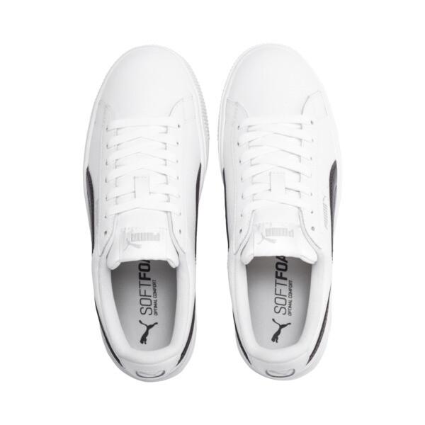 PUMA Vikky Stacked Women's Sneakers, Puma White-Puma Black, large