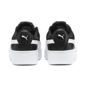Thumbnail 3 of PUMA Vikky Stacked Women's Trainers, Puma Black-Puma White, medium