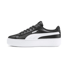 Thumbnail 1 of PUMA Vikky Stacked Women's Trainers, Puma Black-Puma White, medium
