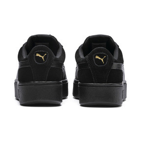 Thumbnail 4 of PUMA Vikky Stacked Women's Trainers, Puma Black-Puma Black, medium