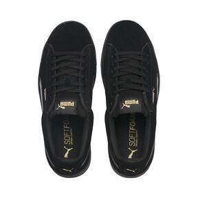 Thumbnail 6 of PUMA Vikky Stacked Suede Women's Sneakers, Puma Black-Puma Black, medium