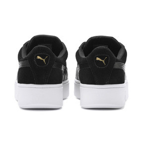 Thumbnail 3 of PUMA Vikky Stacked Women's Trainers, Puma Black-Black- White, medium