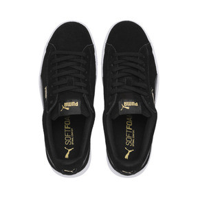 Thumbnail 6 of PUMA Vikky Stacked Women's Trainers, Puma Black-Black- White, medium