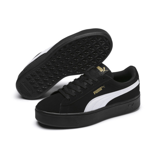 Zapatillas PUMA Vikky Stacked, Puma Black-Puma White, grande