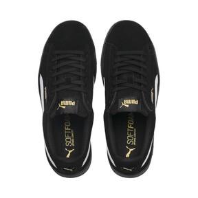 Thumbnail 6 of PUMA Vikky Stacked Suede Women's Sneakers, Puma Black-Puma White, medium