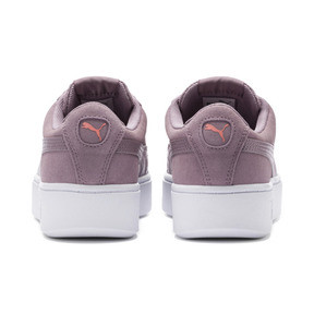 Thumbnail 4 of PUMA Vikky Stacked Women's Trainers, Elderberry-Elderberry, medium