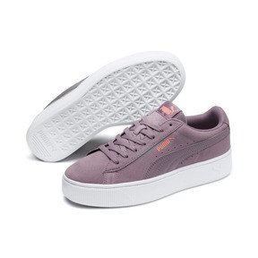 Thumbnail 2 of PUMA Vikky Stacked Women's Trainers, Elderberry-Elderberry, medium