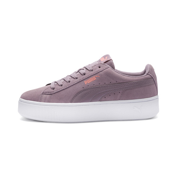 PUMA Vikky Stacked Women's Trainers, Elderberry-Elderberry, large