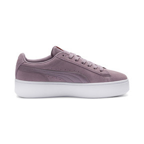 Thumbnail 5 of PUMA Vikky Stacked Women's Trainers, Elderberry-Elderberry, medium