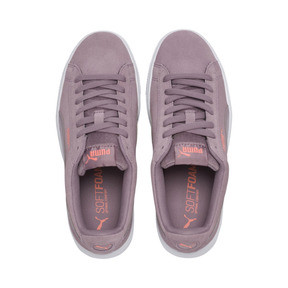 Thumbnail 6 of PUMA Vikky Stacked Women's Trainers, Elderberry-Elderberry, medium