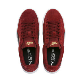 Thumbnail 7 of PUMA Vikky Stacked Suede Women's Sneakers, Fired Brick-Puma Black, medium