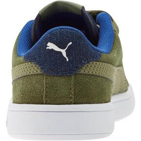 Thumbnail 3 of PUMA Smash v2 Denim AC Sneakers PS, Olivine-Surf The Web, medium