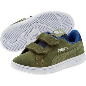 Thumbnail 2 of PUMA Smash v2 Denim AC Sneakers PS, Olivine-Surf The Web, medium