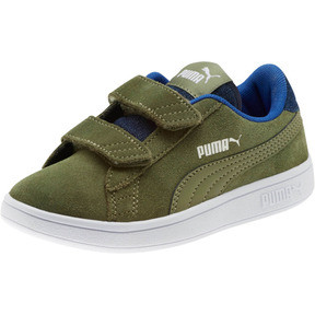 Thumbnail 1 of PUMA Smash v2 Denim AC Sneakers PS, Olivine-Surf The Web, medium