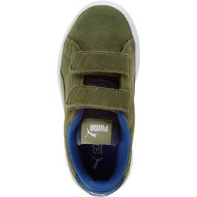 Thumbnail 5 of PUMA Smash v2 Denim AC Sneakers PS, Olivine-Surf The Web, medium