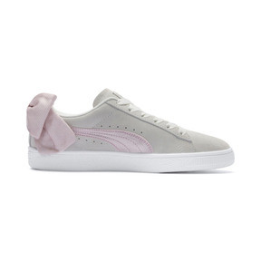 Thumbnail 5 of Suede Bow Hexamesh Women's Trainers, Marshmallow-Pale Pink, medium