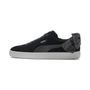 Thumbnail 1 of Suede Bow Hexamesh Damen Sneaker, Puma Black-Dark Shadow, medium