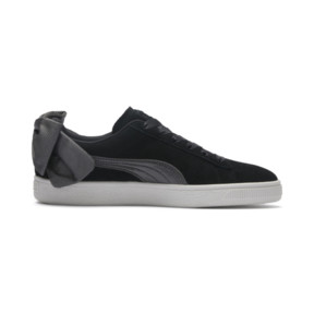 Thumbnail 6 of Suede Bow Hexamesh Damen Sneaker, Puma Black-Dark Shadow, medium