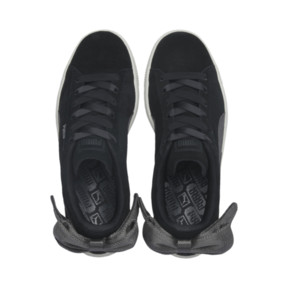 Thumbnail 7 of Suede Bow Hexamesh Damen Sneaker, Puma Black-Dark Shadow, medium