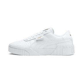 Thumbnail 1 of Cali Women's Trainers, Puma White-Puma White, medium