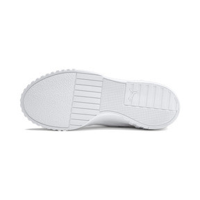 Thumbnail 5 of Cali Women's Trainers, Puma White-Puma White, medium