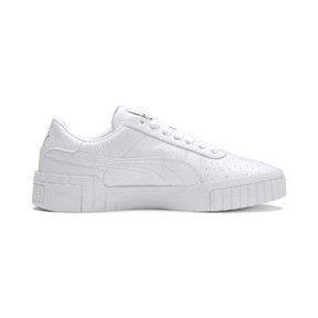 Thumbnail 6 of Cali Women's Trainers, Puma White-Puma White, medium