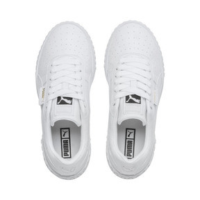 Thumbnail 7 of Cali Women's Trainers, Puma White-Puma White, medium