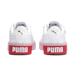 Thumbnail 4 of Cali Women's Trainers, Puma White-Pale Pink, medium