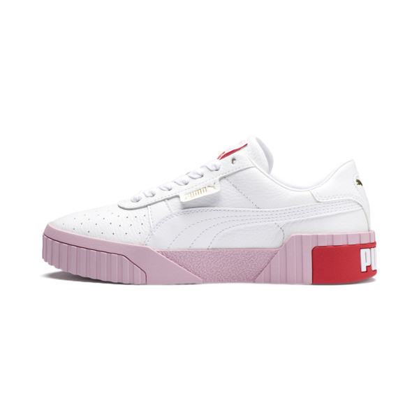 more photos ea36c e492e Cali Women s Trainers, Puma White-Pale Pink, large