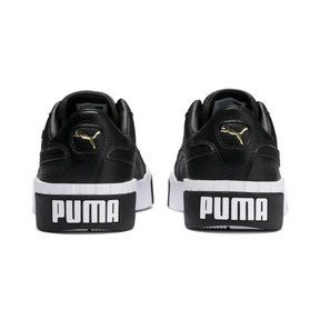 Thumbnail 4 of Cali Damen Sneaker, Puma Black-Puma White, medium