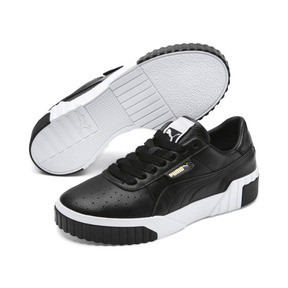 Thumbnail 3 of Cali Damen Sneaker, Puma Black-Puma White, medium
