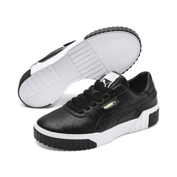 Cali Women's Trainers, Puma Black-Puma White, large