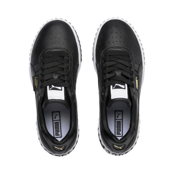 Cali Women's Sneakers, Puma Black-Puma White, large