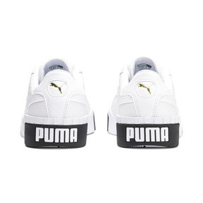 Thumbnail 4 of Cali Women's Trainers, Puma White-Puma Black, medium