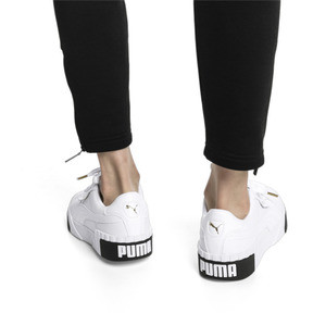 Thumbnail 2 of CALI ウィメンズ, Puma White-Puma Black, medium-JPN
