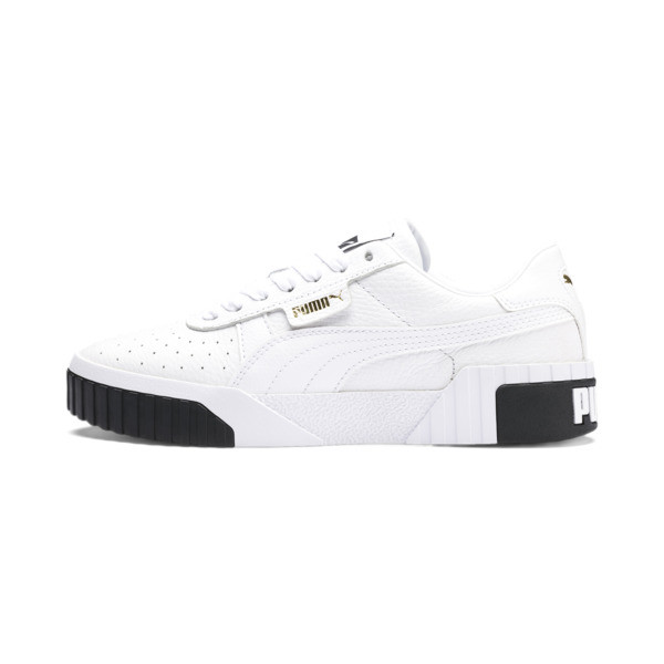 Cali Women's Trainers, Puma White-Puma Black, large