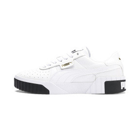 Thumbnail 1 of CALI ウィメンズ, Puma White-Puma Black, medium-JPN
