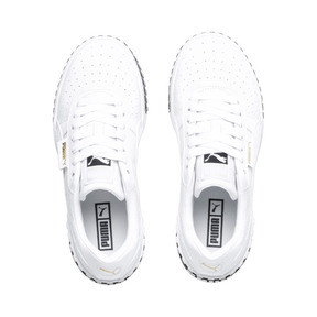 Thumbnail 7 of Cali Women's Trainers, Puma White-Puma Black, medium