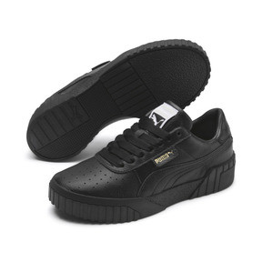 Thumbnail 3 of Cali Damen Sneaker, Puma Black-Puma Black, medium