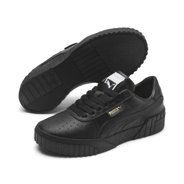 Cali Women's Trainers, Puma Black-Puma Black, large