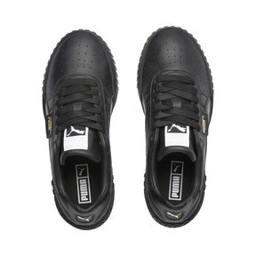 Thumbnail 7 of Cali Damen Sneaker, Puma Black-Puma Black, medium