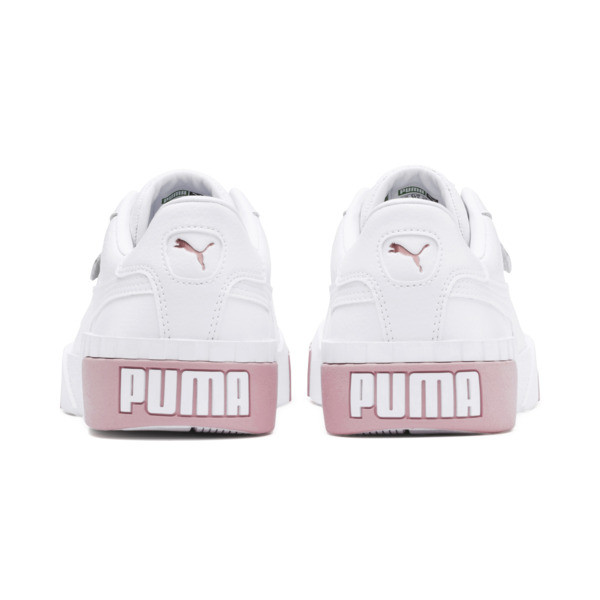 Cali Women's Sneakers, Puma White-Rose Gold, large