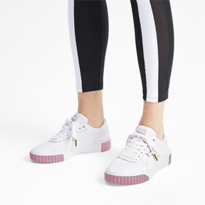 Thumbnail 2 of Cali Women's Trainers, Puma White-Rose Gold, medium