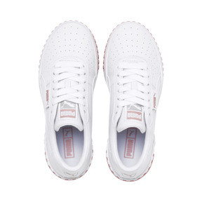 Thumbnail 7 of Cali Women's Trainers, Puma White-Rose Gold, medium